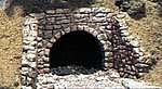 Random Stone Culvert (2) -- HO Scale -- Model Railroad Miscellaneous Scenery -- #c1264
