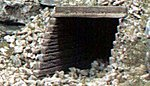 Timber Culvert (2) -- HO Scale -- Model Railroad Miscellaneous Scenery -- #c1265