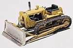 Bulldozer-Cat D-7 Tractor Kit -- HO Scale Model Railroad Vehicle -- #d233