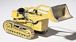 Track Type Loader CAT #6 Metal Kit -- HO Scale Model Railroad Vehicle -- #d235