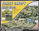 Forest Canopy -- Light Green -- Model Railroad Tree -- #f1660
