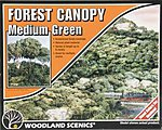 Forest Canopy -- Medium Green -- Model Railroad Tree -- #f1661