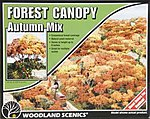 Forest Canopy -- Autumn Mix -- Model Railroad Tree -- #f1663