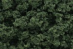 Bushes Clump Foliage -- Medium Green -- Model Railroad Grass Earth -- #fc146