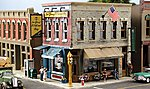 Pre-Fab Building -- Main Street Mercantile HO Scale -- HO Scale Model Railroad Building -- #pf5182