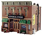Lubener's General Store O Scale -- O Scale Model Railroad Building -- #pf5890