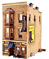 J.W. Shoe Cobbler -- O Scale -- O Scale Model Railroad Building -- #pf5892