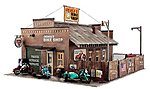 Deuce's Bike Shop -- O Scale -- O Scale Model Railroad Building -- #pf5895