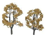 Ready Made Premium Trees -- Deciduous -- Dead Elm -- 1 Each - 3-1/8 & 2-1/2'' -- #tr1602