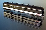 National Steel 70' Baggage-Express Canadian National -- N Scale Model Train Passenger Car -- #266