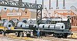 Freight Car/Truck Loads - Kit - Steel Coils (12) -- HO Scale Model Train Freight -- #1499