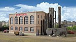 Gas Plant w/Washing Tank Kit 16-1/2 x 7-7/8 x 7-7/8'' -- HO Scale Model Railroad Building -- #2905