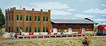 Water Street Freight Terminal - Kit -- HO Scale Model Railroad Building -- #3009
