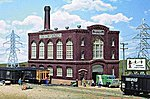 Northern Light & Power Powerhouse - Kit -- HO Scale Model Railroad Building -- #3021