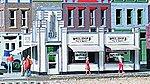 White Tower Restaurant - Kit - 4-5/8 x 3 x 2-7/8'' -- HO Scale Model Railroad Building -- #3030