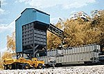 Coal Flood Loader - Kit - 4 x 6 x 11'' -- HO Scale Model Railroad Building -- #3051