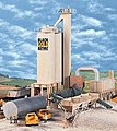 Black Gold Asphalt Hot Mix Plant - Kit -- HO Scale Model Railroad Building -- #3085
