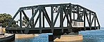 Double Track Swing Bridge - Kit - 27 x 6-3/8 x 7-9/16'' -- HO Scale Model Railroad Bridge -- #3088
