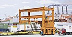 Mi-Jack Translift Intermodal Crane - Kit -- HO Scale Model Railroad Building -- #3122