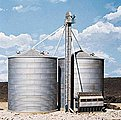 Grain Conveyor - Kit -- HO Scale Model Railroad Building -- #3124