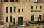 Arrowhead Ale Background Building - Kit -- HO Scale Model Railroad Building -- #3193