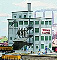 Red Wing Milling Co. - Kit - 6-5/8 x 4-7/8'' 16.5 x 12cm -- N Scale Model Railroad BUilding -- #3212
