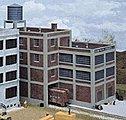 George Roberts Printing, Inc. - Kit -- N Scale Model Railroad Building -- #3231