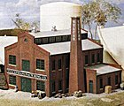 Vulcan Manufacturing Co. - Kit - 5-5/8 x 5-11/16'' -- N Scale Model Railroad Building -- #3233