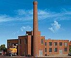Machine Shop - Kit - 8-1/8 x 5-3/16 x 6-1/2'' -- N Scale Model Railroad Building -- #3264