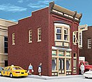 Perfect Perk Cafe - Kit - 3-1/8 x 5-1/2 x 4-1/2'' -- HO Scale Model Railroad Building -- #3468