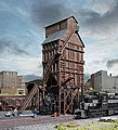 Wood Coaling Tower - Kit - 3-5/8 x 2-1/4 x 6-1/2'' -- N Scale Model Railroad Building -- #3823