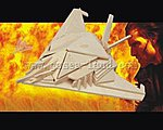 B2 Fighter (8'' Wingspan) -- Wooden 3D Jigsaw Puzzle -- #1112