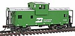 Wide Vision Caboose Ready to Run Burlington Northern -- Model Train Freight Car -- HO Scale -- #1501