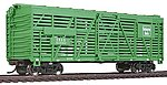 40' Stock Car R2R Chicago, Burlington & Quincy -- Model Train Freight Car -- HO Scale -- #1685
