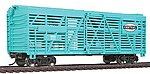 40' Stock Car Ready to Run New York Central -- Model Train Freight Car -- HO Scale -- #1687