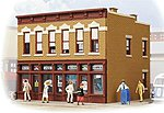 Gemini Building Assembled -- Model Railroad Building -- HO Scale -- #806
