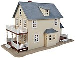 Two-Story House Kit -- Model Railroad Building -- HO Scale -- #901