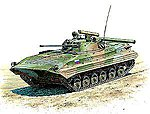 BMP-2 Russian IFV -- Plastic Model Military Vehicle Kit -- 1/35 Scale -- #3554