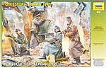 German Volkssturm Berlin 1945 Soldiers (4) -- Plastic Model Military Figure -- 1/35 Scale -- #3621