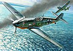 Messerschmitt BF-109 F4 -- Plastic Model Airplane Kit -- 1/48 Scale -- #4806