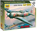 La-5FN Soviet WWII Fighter -- Plastic Model Airplane Kit -- 1/144 Scale -- #6255