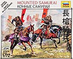 Mounted Samurai - Japanese Samurai -- Plastic Model Military Figure -- 1/72 Scale -- #6407