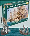 Armada Invincible Historical Wargame -- 1/350 Scale Plastic Model Military Ship -- #6505