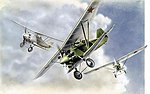 Antonov ANT-5 Fighter -- Plastic Model Airplane Kit -- 1/72 Scale -- #7271