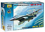 MiG-29S (9-13) Russian Fighter -- Plastic Model Airplane Kit -- 1/72 Scale -- #7278