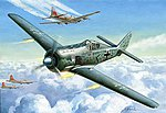 Fw190A Fighter (Snap) (New Tool) -- Plastic Model Airplane Kit -- 1/72 Scale -- #7304