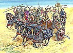 Persian Chariot & Cavalry V-IV BC -- Plastic Model Military Figure -- 1/72 Scale -- #8008