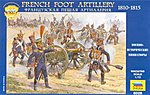 French Foot Artillery 1810-15 -- Plastic Model Military Figure -- 1/72 Scale -- #8028
