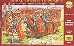 Roman Imperial Infantry -- Plastic Model Military Figure -- 1/72 Scale -- #8043