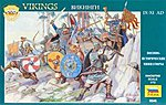 Vikings 9th - 11th Century -- Plastic Model Military Figure -- 1/72 Scale -- #8046
